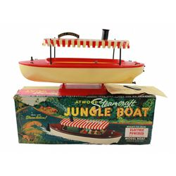 1957 Disneyland Atwood Steamcraft electric-powered jungle boat.