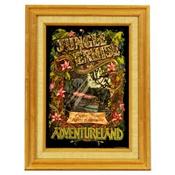 Jungle Cruise Attraction souvenir poster mirror.