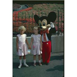 Collection of (28) amateur color slides from Disneyland circa 1962
