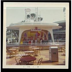 Collection of (48) color amateur photos of Disneyland circa 1968-1969.