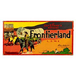 Original Walt Disney's Frontierland Game.