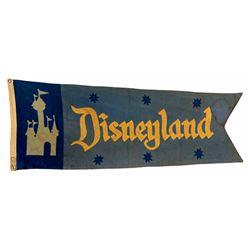 Mark Twain Riverboat Disneyland pennant.