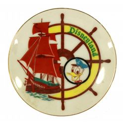 Vintage Sailing Ship Columbia souvenir plate.