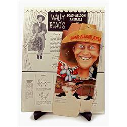 """Wally Boag's """"Boag-alloon Kit"""" box and instructions."""