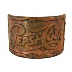 Original Golden Horseshoe revue Pepsi Cola soda tap ornamentation.
