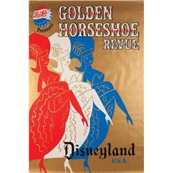 Original Golden Horseshoe Revue attraction poster.