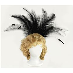 "Betty Taylor original ""Slue Foot Sue"" feather headdress."