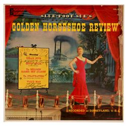 Signed Golden Horseshoe Review LP record.