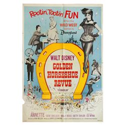 Golden Horseshoe Revue one-sheet theatrical poster.