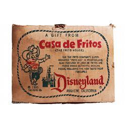 Casa De Fritos mailing gift box.