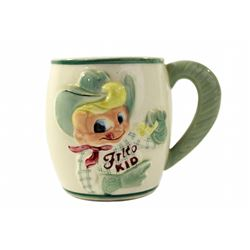 Casa De Fritos ceramic childs' mug.