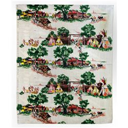Frontierland souvenir fabric.