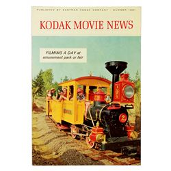 Kodak Movie News Magazine featuring Disneyland.