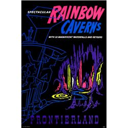 Original Rainbow Caverns attraction poster.