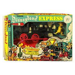 Auburn Disneyland Express train playset with box.