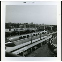 Collection of (22) amateur photos from Disneyland circa 1959.