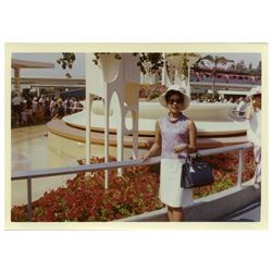 Collection of (25) color amateur photos of Disneyland circa 1964-1968.