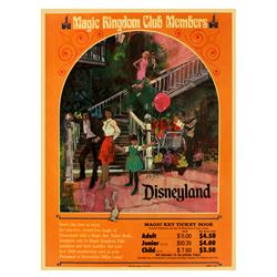 New Orleans Square grand opening ticket booth poster.