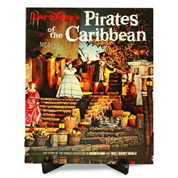 Pirates of the Caribbean souvenir guidebook.