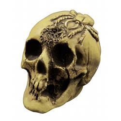 Randotti Haunted Mansion  souvenir skull.