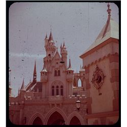 Collection of (14) amateur 3-d stereo slides at Disneyland circa 1957