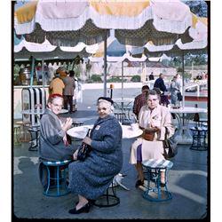 "Collection of (10) color amateur ""3D"" slides of Disneyland circa 1958-1961."