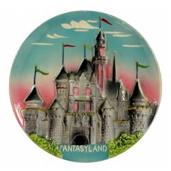 Fantasyland decorative wall plate.