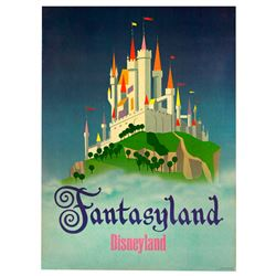 "FANTASYLAND ""NEAR-ATTRACTION"""" POSTER FROM THE MAIN STREET EMPORIUM."