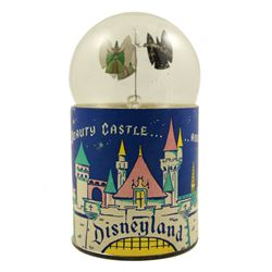 SLEEPING BEAUTY'S CASTLE ATTRACTION SOUVENIR SOLAR TOY.