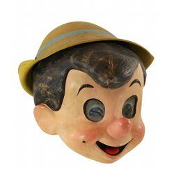 """Disneyland """"Pinocchio"""" """"character costume head."""