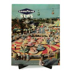 "Rare ""Goodyear News Magazine"" featuring Disneyland"