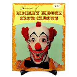 Mickey Mouse Club Circus sourvenir program.
