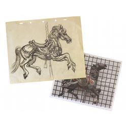 Original King Arthur's Carousel concept design.