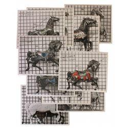 King Arthur's Carousel (10) horse inventory photos.