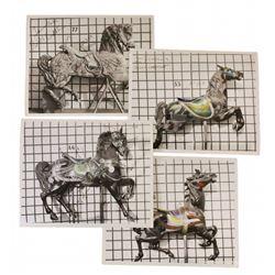 King Arthur's Carousel (4) horse inventory photos.