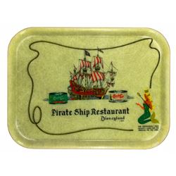 Chicken of the Sea Pirate Ship Restaurant food tray.