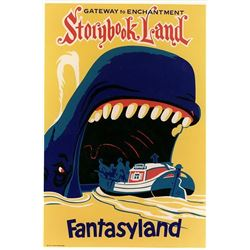 Original Storybook Land attraction poster.
