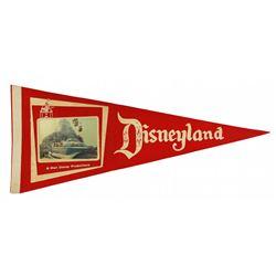 Matterhorn/Monorail 3-D souvenir pennant.