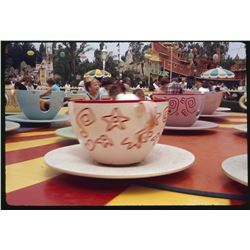Collection of (30) amateur color slides at Disneyland circa 1965-1966.