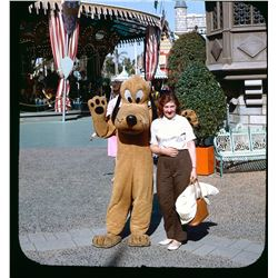 Collection of (51) amateur color slides from Disneyland circa 1960s.