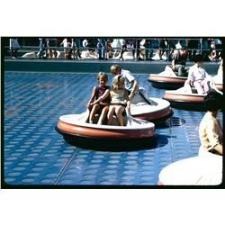 Collection of (30) color amateur slides of Disneyland circa 1966.