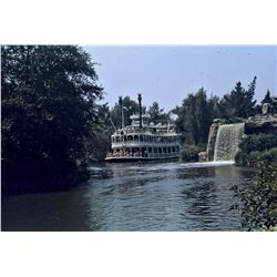 Collection of (30) color amateur slides of Disneyland circa 1969.