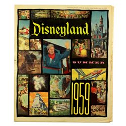 Disneyland Summer 1959 Los Angeles Times Souvenir News Supplement