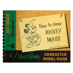 Art Corner How to Draw Mickey Mouse souvenir guide .