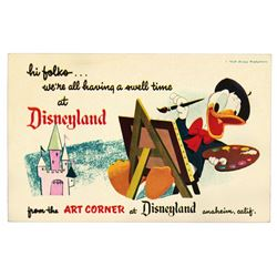 Unused (4) Art Corner Post Cards.