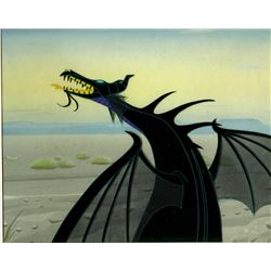 "Original production cel of ""Maleficent"" as the Dragon from ""Sleeping Beauty"