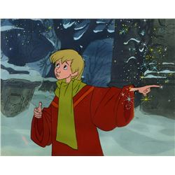 "Original production cel of ""Wart""  from ""The Sword in the Stone"""