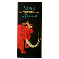 Richfield's The World Beneath Us-The Story of Oil exhibit pamphlet.