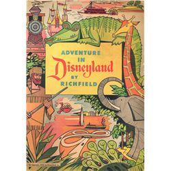 Richfield's Clyde Beatty's African Jungle Book  give-away comic book.