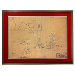 TWA Rocket to the Moon construction used blueprint.